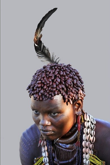 Benna woman with good hair style