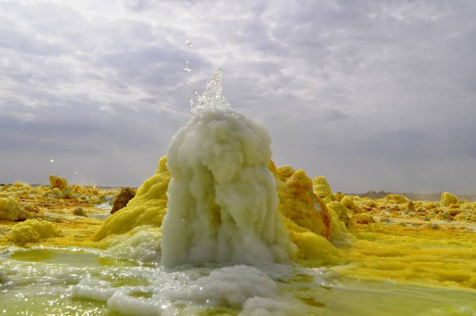 Dallol Sulfer formation
